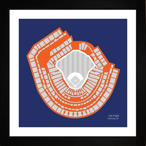 unique gifts for mets fans new york mets citi field stadium print art gift wall art