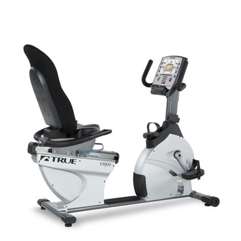 reclining exercise bike reviews true es900 recumbent bike gym source