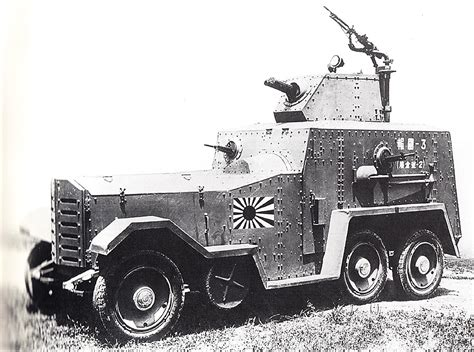 Car Types In Japan by Type 93 Armoured Car