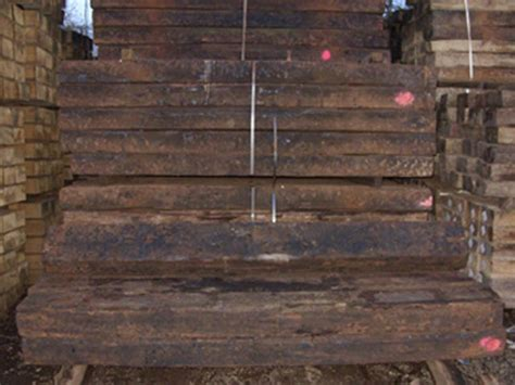 Reclaimed Hardwood Sleepers by Railway Sleepers Uk Sleepers To Buy Reclaimed New Used