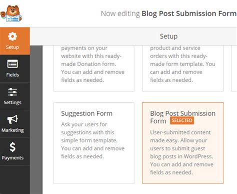 design form submit how to use custom fields in user submitted posts