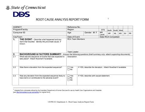 it rca template rca template 28 images root cause analysis template