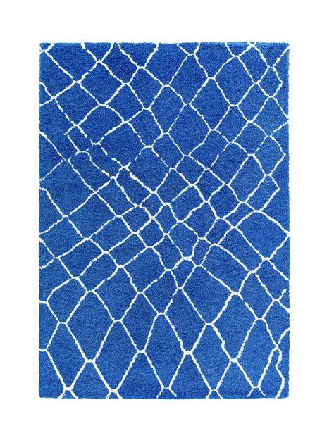 kurzflor teppich blau sch 246 ner wohnen teppich kurzflor karo blau 161020