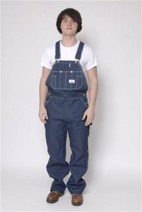 House Overalls by House Denim Low Back Overalls