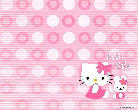 hello kitty wallpaper on tumblr hello kitty pink backgrounds wallpaper cave