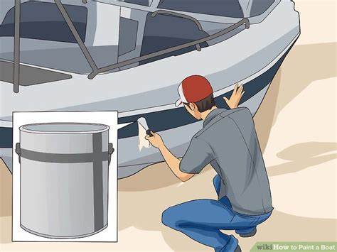 how to spray paint a fiberglass boat how to paint a boat 11 steps with pictures wikihow