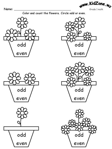 free printable math worksheets even odd free coloring pages of odd and even number