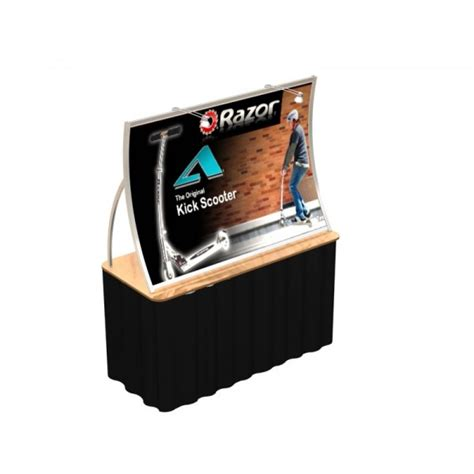 10 quot tool less assembly quot modular table top display