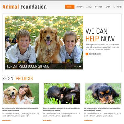 Html Website Templates Html Css Website Templates Coded Website Templates Page 4 Animal Website Templates