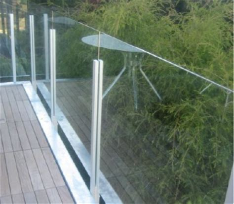 Glass Patio Railing Systems by Glass Railings Introducing The Glass Lock 3000