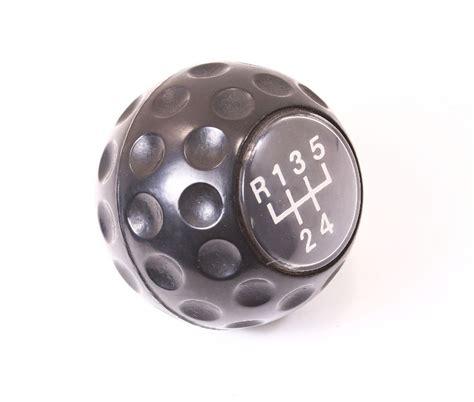 original genuine vw golf gti shift shifter knob vw