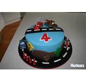 Cars  Huggies Birthday Cake Gallery