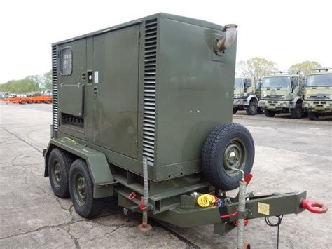 hunting  kva trailer mounted generator  sale