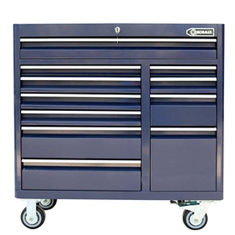 kobalt 8 drawer tool box shop kobalt 41 in x 41 in 11 drawer ball bearing steel