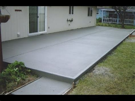 how to cement backyard concrete patio ideas new interior exterior design