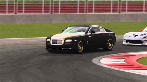 Racing The Rolls Royce Wraith Dlc Around Silverstone