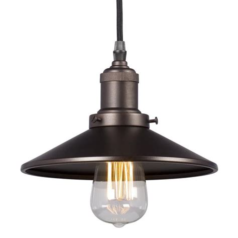 Filament Pendant Light Filament Design Egan 1 Light Bronze Pendant Cli Xy257728 The Home Depot