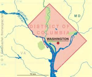 us map dc area s glassware tour unites states of america usa