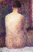 seated model side view 1887 georges seurat oil all georges seurat s oil paintings index wholesale
