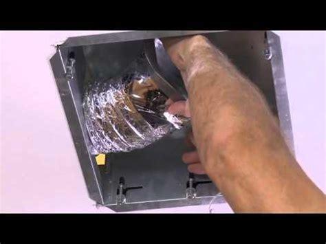 ez fit bathroom fan installing the nutone ez fit ventilation fan youtube