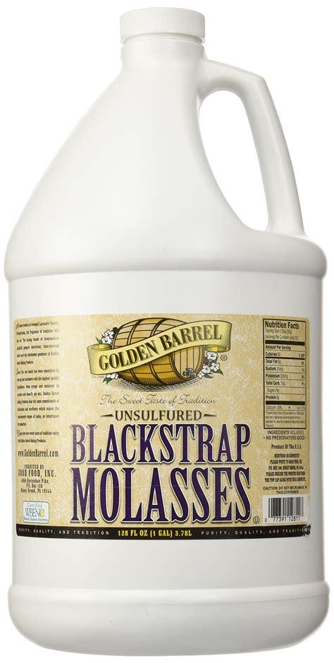 Shelf Of Blackstrap Molasses by Golden Barrel Bulk Unsulfured Blackstrap Molasses 1 Gallon