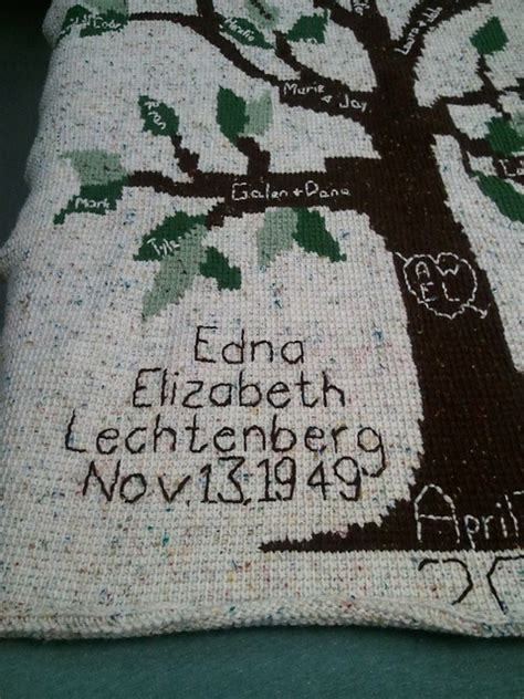 1000 images about crocheted family tree blanket aka the