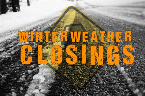 Winter Weather High Volume Delays Winter Weather Closings And Delays Texarkana Today