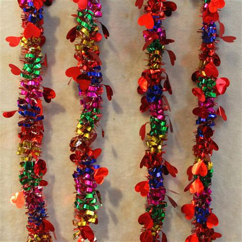 new christmas tree decoration colorful christmas garland