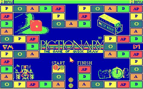 printable moby instructions pictionary the game of quick draw screenshots for dos