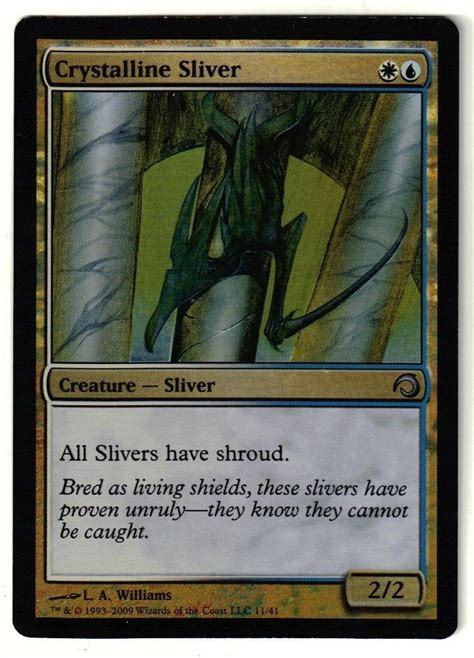 Best Sliver Deck by 86 Best Mtg Slivers Images On
