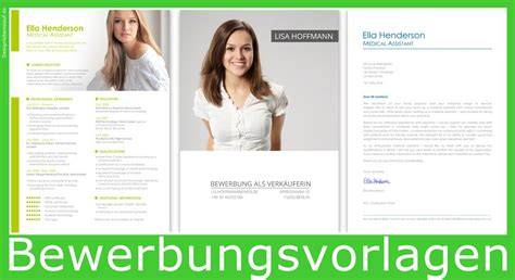 Bewerbungsvorlagen Modern Bewerbung Layout Mit Word Open Office Bearbeiten
