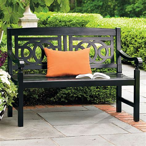 grandin road bench classic design picks online interior decorator