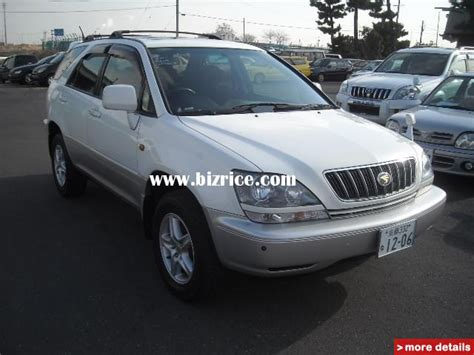used toyota harrier picture image toyota harrier japan autos post