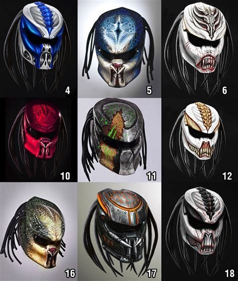 Helm Semi Cross Visor We Are Rider predator motorcycle helmet isn t invisible so you can see