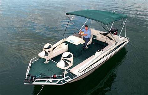 fishing deck boat reviews deck ski fishing boats 101 boat dock gamaliel ar 870