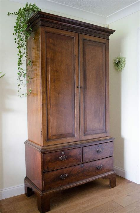 Antique Wardrobes Ebay by Stunning Antique 19th Century Mahogany Wardrobe