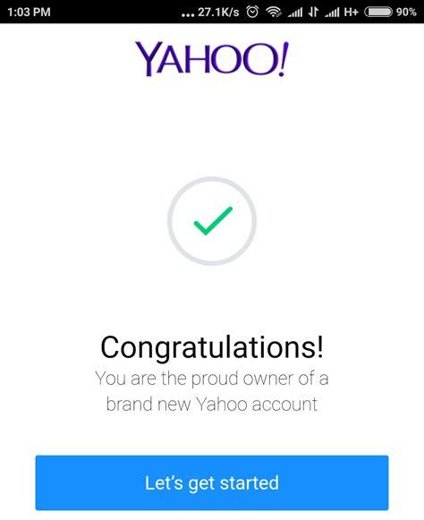 membuat e mail yahoo lewat hp cara daftar email buat email yahoo lewat hp android