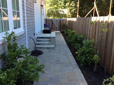 Mill Valley, CA Backyard & Side Yard Pavers   Forever Greens