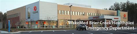 wakemed emergency room brier creek healthplex emergency wakemed raleigh nc