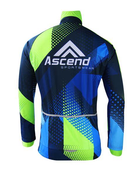 cycling wind jacket apex cycling wind jacket ascend sportswear