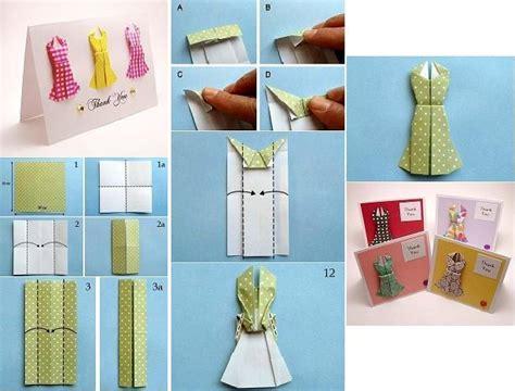 diy cute dresses   card