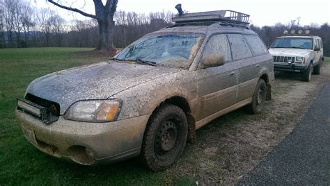 subaru outback mud tires my outback with a 2 quot lift kit and a t tires subaru