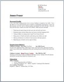 it cv template uk cv templates uk format