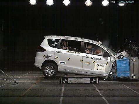 Suzuki Crash Test Suzuki Ciaz Ertiga Gets 4 In Asean Ncap Crash Test