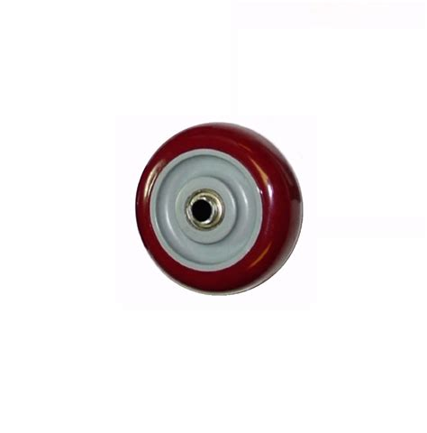 X Maroon 1 one maroon on gray polyurethane 5 quot x 1 1 4 quot wheel with