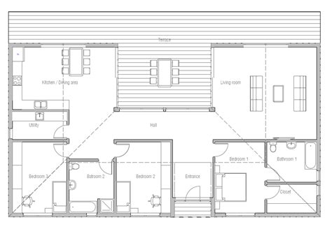 plans house ch272 house plan house plans