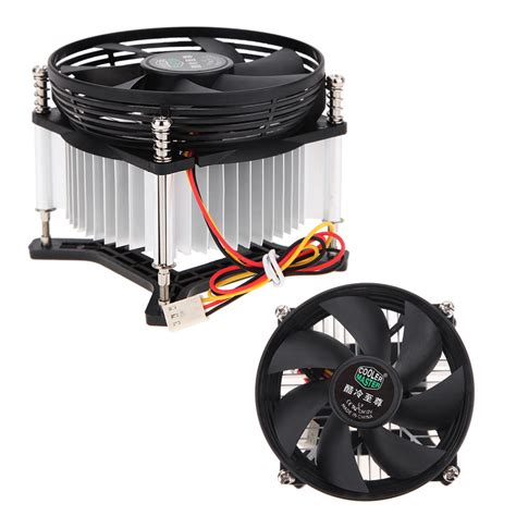 ultra quiet pc fans high quality 3pin dc 12v cpu cooler pc ultra
