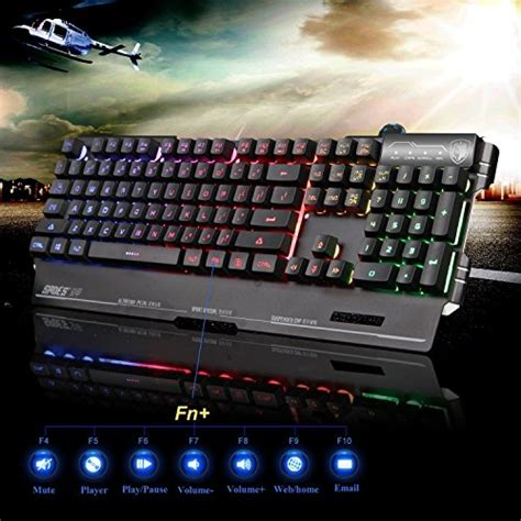 Keyboard Gamingsades Blademail K8 yanni sades blademail k8 wired computer usb gaming keyboards for pc gamers 19 non conflict