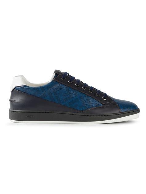 fendi sneaker fendi wimbledon sneakers in blue lyst