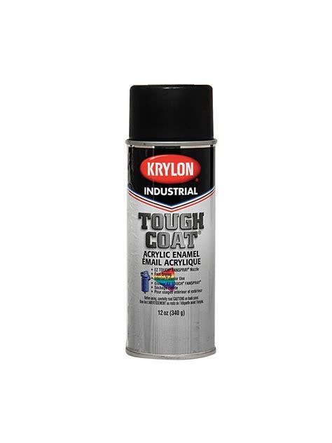 spray paint ingredients krylon interior exterior paint gloss black msds